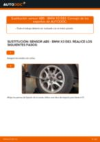 Guía de reparación paso a paso para BMW G01