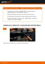 Priročnik PDF o vzdrževanju X3
