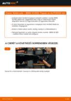 Elülső féktárcsák-csere BMW X3 E83 gépkocsin – Útmutató