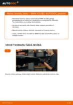 Rokasgrāmata PDF par X3 remonts un apkopi