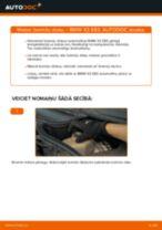 BMW X3 lietotāja rokasgrāmata