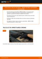 Înlocuire Kit discuri frana spate si față BMW cu propriile mâini - online instrucțiuni pdf