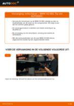 Hoe Remschijven vervangen en installeren BMW X3: pdf tutorial