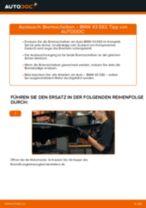 Bremsscheiben erneuern BMW X3: Werkstatthandbücher