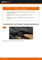 Slik bytter du bremseklosser fremme på en BMW X3 E83 – veiledning