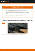 Remblokkenset schijfrem veranderen BMW X3: gratis pdf