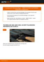 BMW E38 Scheibenbremsbeläge: Tutorial zum eigenständigen Ersetzen online