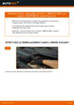 Montage Kit de plaquettes de frein BMW X3 (E83) - tutoriel pas à pas
