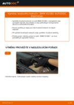Jak vyměnit zadní a přední Kotouče BMW udělej si sám - online návody pdf