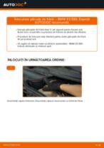 Manualul proprietarului și carte tehnică BMW