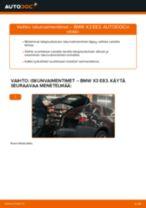 Automekaanikon suositukset BMW BMW X3 E83 3.0 d -auton Polttoainesuodatin-osien vaihdosta