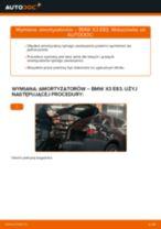 Wymiana Amortyzator BMW X3: instrukcja napraw