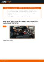 Vodič PDF po korakih za menjavo BMW X3 (E83) Blazilnik