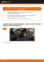 Aprenda a corrigir o problema do Amortecedor dianteiro BMW
