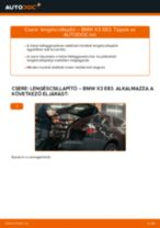 Lépésről-lépésre PDF-útmutató - Daihatsu Applause A101 Csapágyazás, kerékcsapágy ház csere