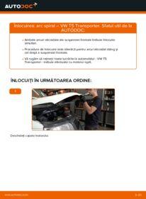 Cum să efectuați înlocuirea: Arc spirala la 2.5 TDI VW T5 Van