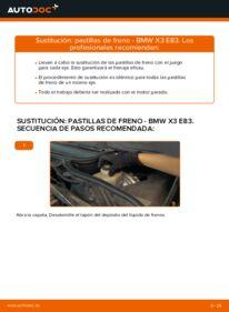 Cómo realizar una sustitución de Pastillas De Freno en un BMW X3