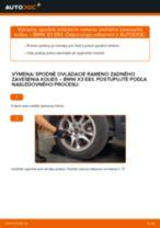 Naučte sa, ako vyriešiť problémy s zadné a predné Rameno Zavesenia Kolies BMW