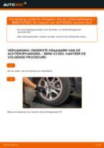 Montage Draagarm wielophanging BMW X3 (E83) - stap-voor-stap handleidingen