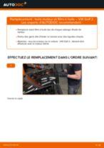 Comment changer : huile moteur et filtre huile sur VW Golf 2 - Guide de remplacement