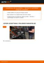 Udskift motorolie og filter - VW Golf 2 | Brugeranvisning