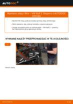 Jak wymienić oleju silnikowego i filtra w VW Golf 2 - poradnik naprawy