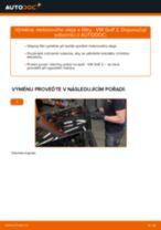 Jak vyměnit motorový olej a olejový filtr na VW Golf 2 – návod k výměně