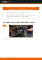 Como mudar óleo do motor e filtro em VW Golf 2 - guia de substituição