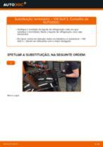 Manual de solução de problemas do VW GOLF