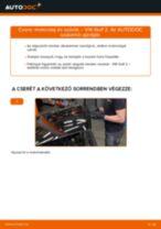 Motorolaj és szűrők-csere VW Golf 2 gépkocsin – Útmutató