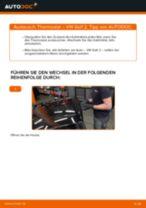 WAHLER 4083.83 für GOLF II (19E, 1G1) | PDF Handbuch zum Wechsel