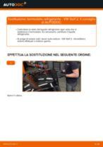 Come cambiare termostato refrigerante su VW Golf 2 - Guida alla sostituzione
