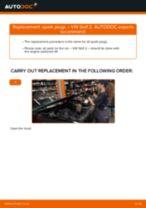 Replacing Anti roll bar bush kit VW GOLF: free pdf
