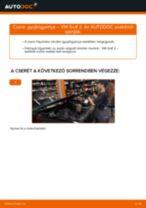 Gyújtógyertya-csere VW Golf 2 gépkocsin – Útmutató