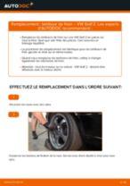 Comment changer : tambour de frein sur VW Golf 2 - Guide de remplacement