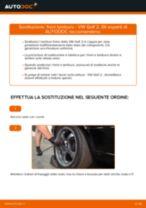 Come cambiare tamburo freno su VW Golf 2 - Guida alla sostituzione