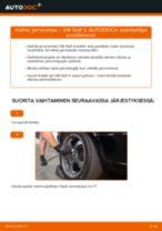 Kuinka vaihtaa jarrurumpu VW Golf 2-autoon – vaihto-ohje