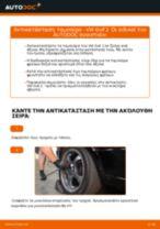 Πώς να αλλάξετε ταμπούρο σε VW Golf 2 - Οδηγίες αντικατάστασης