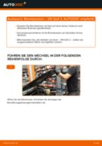 VW Trommelbremsbacken hinten und vorne wechseln - Online-Handbuch PDF