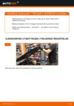 Mekanikerens anbefalinger om bytte av VW Golf 6 2.0 TDI Bremseklosser