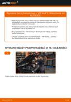 Jak wymienić tarcze hamulcowe przód w VW Golf 2 - poradnik naprawy