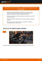 Tutorialul etapizat în format PDF pentru înlocuirea Disc frana la VW GOLF II (19E, 1G1)