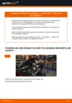 Wie VW Golf 2 Bremsscheiben vorne wechseln - Schritt für Schritt Anleitung