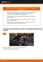 Wechseln von Bremsscheibe VW GOLF: PDF kostenlos