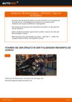 Bremsscheiben vorne selber wechseln: VW Golf 2 - Austauschanleitung