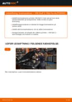 Udskift bremseskiver for - VW Golf 2 | Brugeranvisning