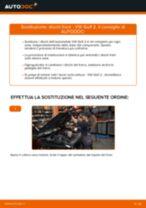 Come cambiare dischi freno della parte anteriore su VW Golf 2 - Guida alla sostituzione