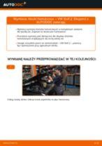 Jak wymienić klocki hamulcowe przód w VW Golf 2 - poradnik naprawy