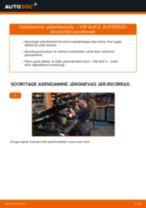 VW GOLF Piduriklotsid vahetus: tasuta pdf