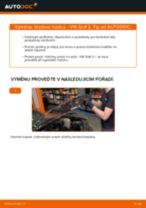 Vyměnit Brzdove hadicky VW GOLF: dílenská příručka